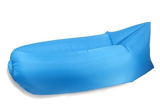 New High Quality Outdoor Inflatable Air Filled Lounger Ballon Bean Bag Chair Convenient Hangout