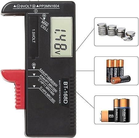 Digitaler Batterietester Batterie Testgerät Und Akku Elektronik