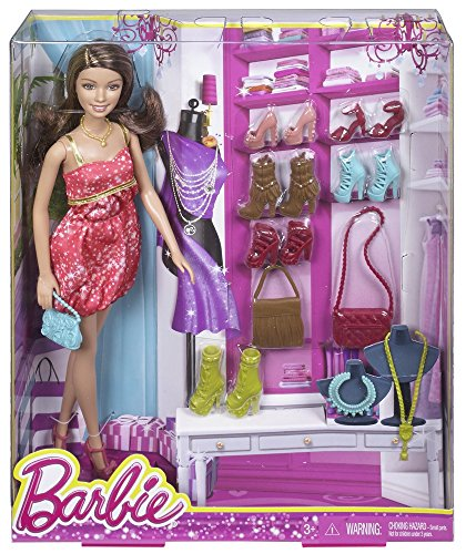 Barbie Teresa Doll and Shoes Giftset (Best Gift For Fashionista)