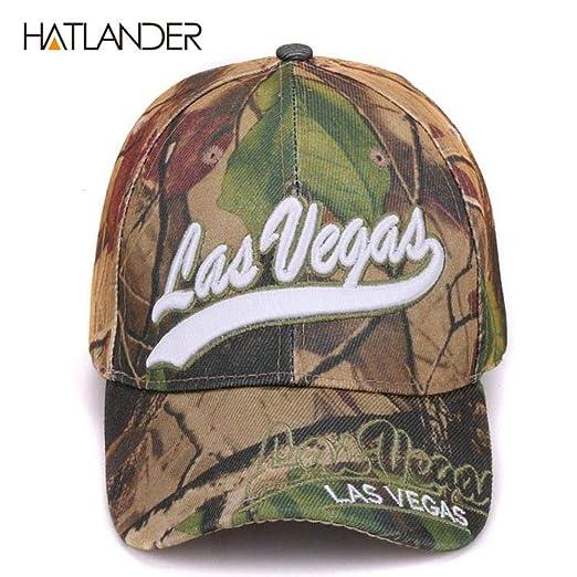 Baseball Caps - Las Vegas Leaf Camouflage Baseball Caps Summer Fishing Hats (Camo Las Vegas, One Size) at Amazon Womens Clothing store: