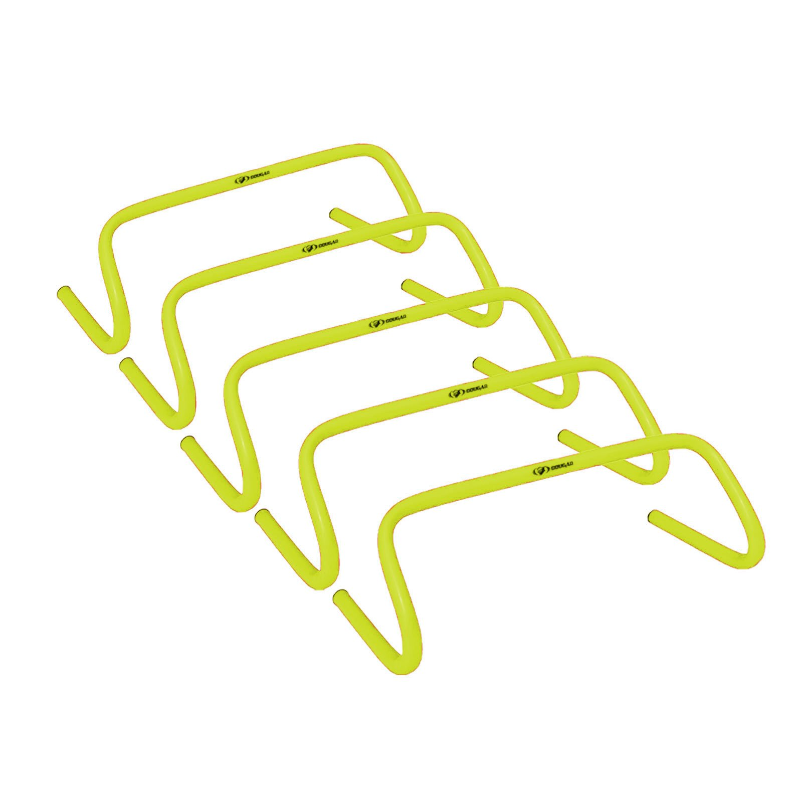 Cougar Speed Hurdles – 6 inches high Hurdles Lemon Yellow (Set of 5)