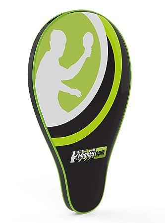 Ping Pong Paddle Raqueta caso - Bolsillo Frontal para bolas por ...
