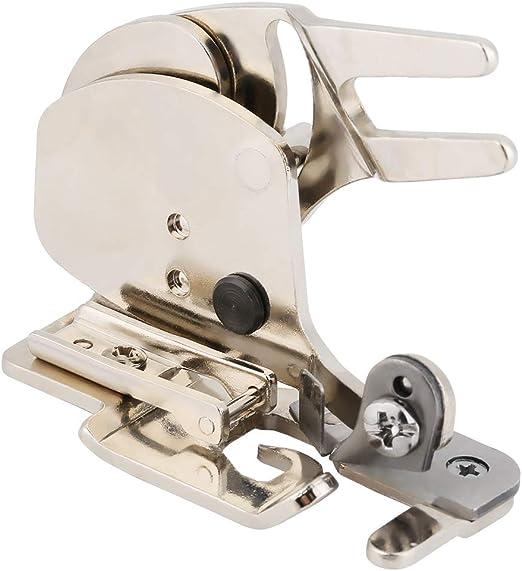 Sheens Prensatelas de Acero Overlock, cortadora Lateral Máquina de ...