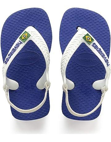 1edd2d8515a Havaianas Unisex Babies  Brasil Logo Ii Flip Flops