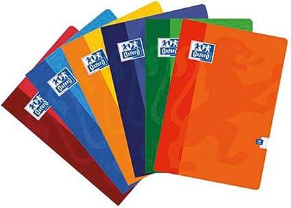 Oxford - Cuaderno A4 Pauta 2,5mm 48hj 90gr, multicolor (099443), 1 ...
