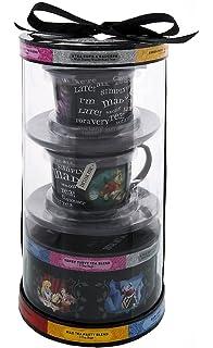 Disney Parks Alice Wonderland 2 Tea Cups U0026 Saucers Variety Gift Set