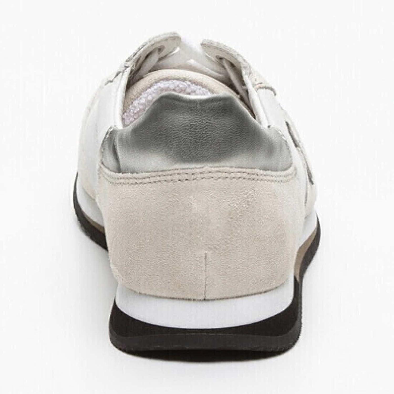 Sneakers Guess. FM1MRV. en nubuck beige et blanc Réf. FM1MRV-SUE12-OWHIT JCw7xUcJM