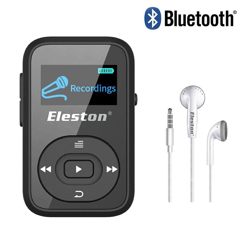 Eleston mp3音楽プレーヤーwith Bluetoothブラック   B07JGZ7NDV