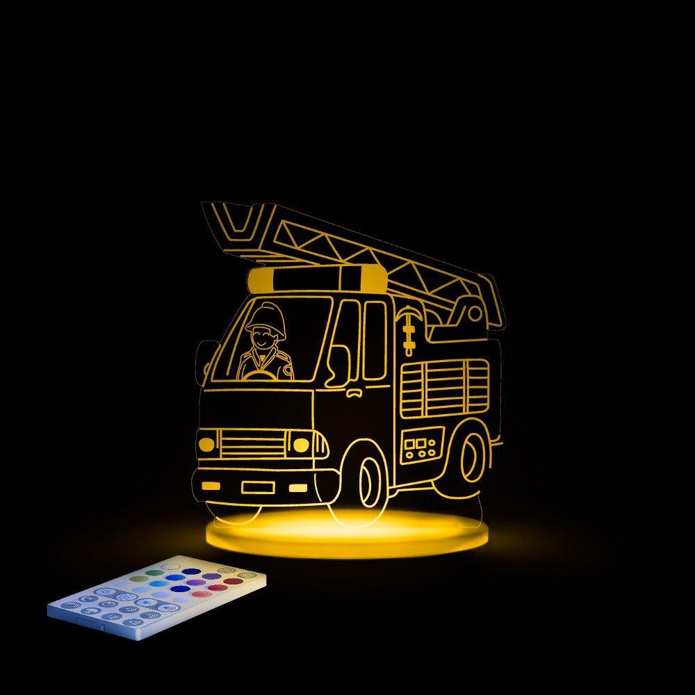 Aloka 321009 Kinderzimmerlampe Nachtlicht Feuerwehr: Amazon.de ...
