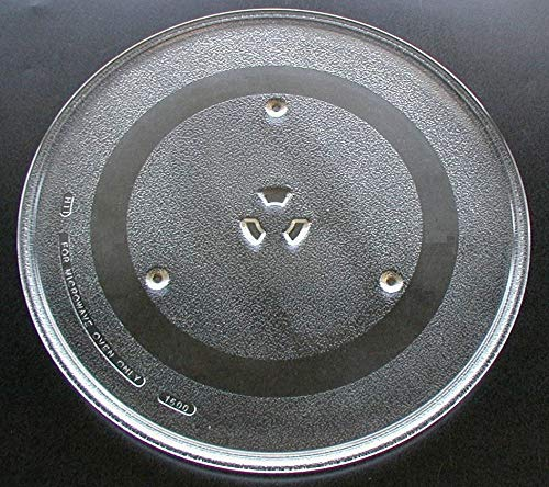 G.E. WB49X10002 Microwave Glass Turntable Tray, 13.5-inch by GE
