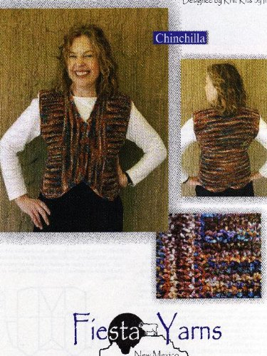 Cinchilla Vest Knitting Pattern (Fiesta Knitting Yarn)