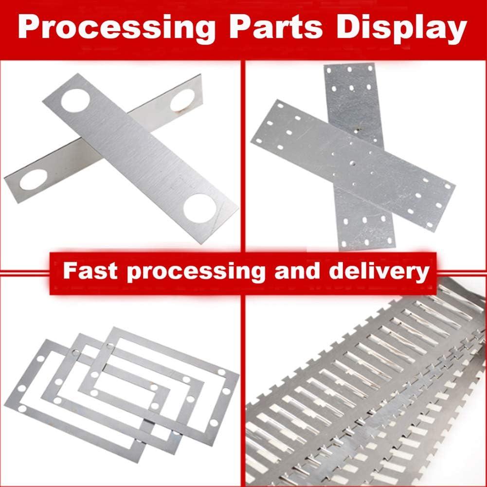 SOFIALXC Aluminiumfolie 1060 Blatt Reine Aluminiumplatte DIY Material 0,4 mm x 10 mm x 5000 mm