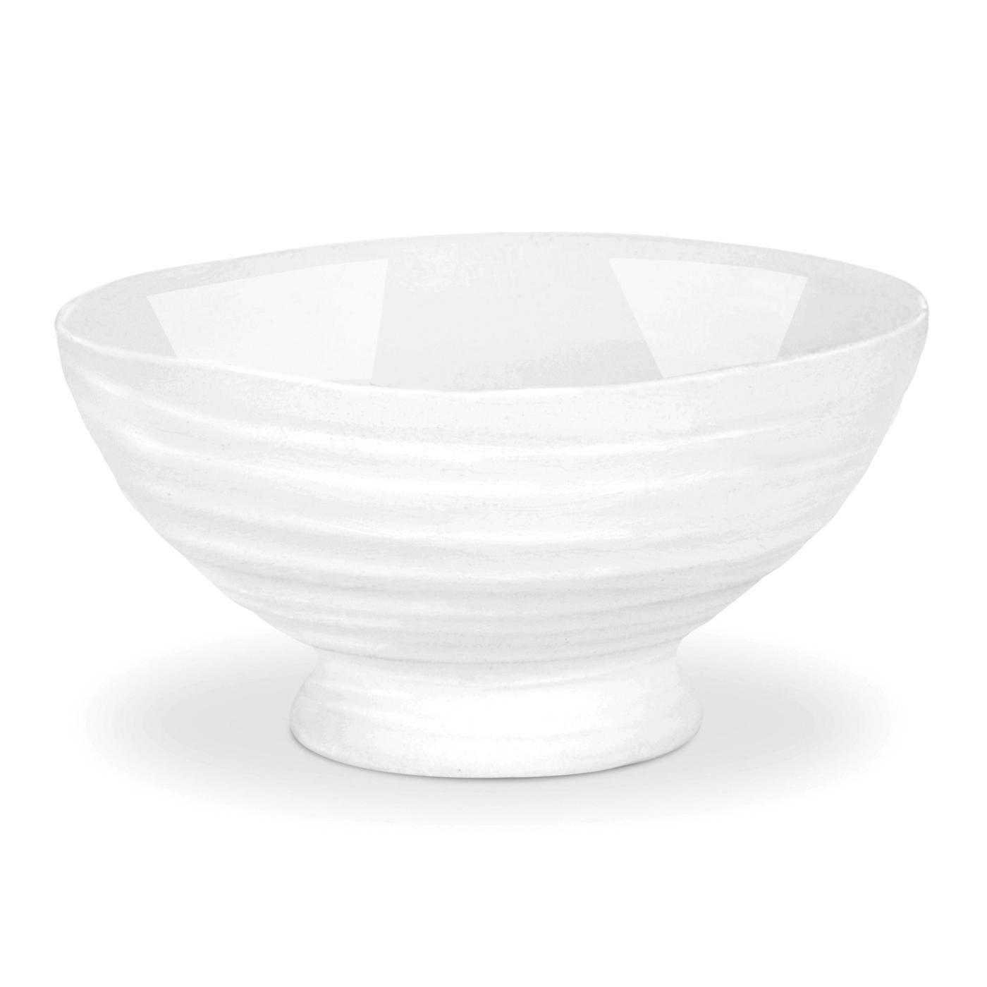 Portmeirion Sophie Conran White Mini Dip Dish, Set of 4