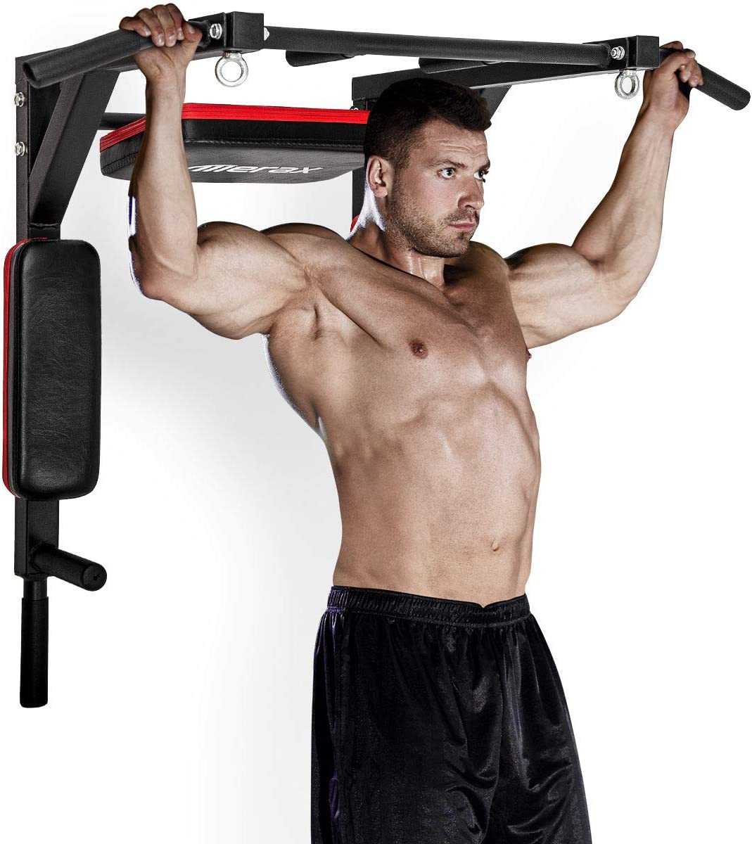 Merax Wall Mounted Pull-Up Bar