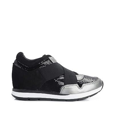 Guess , Damen Sneaker Schwarz Schwarz   Schwarz Amazon   Schuhe & Handtaschen e09d80