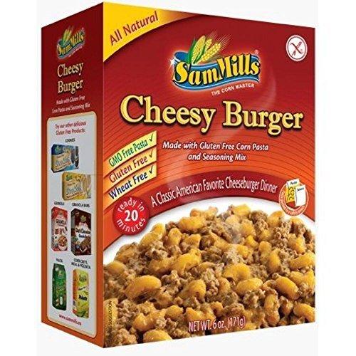 Sam Mills Cheesy Burger Dinner Kit, 6 Ounce -- 6 per case.