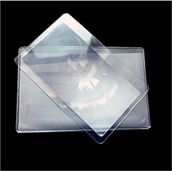 Excellent.Advanced® 10 PC Fresnel lente transparente tarjeta ...