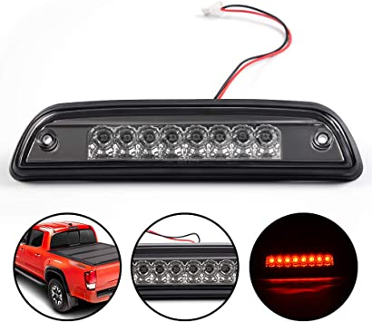 FOR 95-17 TOYOTA TACOMA CLEAR LED THIRD 3RD TAIL BRAKE LIGHT REAR RESERVE LAMP