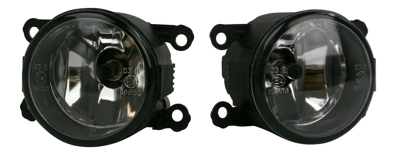 Corsa D Mk3 VXR 2007-2015 Front Fog Light Lamp Pair Left /& Right