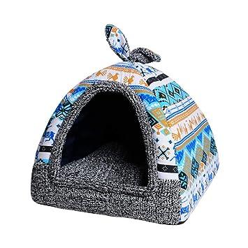 Amazon.com: Cama para mascotas con diseño de conejo de peste ...