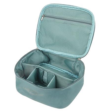 FakeFace Große Kapazität Kulturbeutel Toiletbag Kosmetiktäschchen Schminktasche mit Raumteiler Kulturtaschen Multifunktion Be