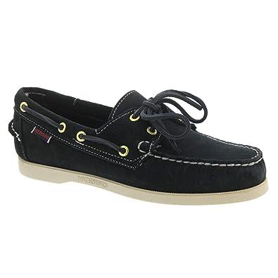 Sebago 700G90-908 - Mocasines de Cuero para Hombre Blue-Navy: Amazon.es: Zapatos y complementos