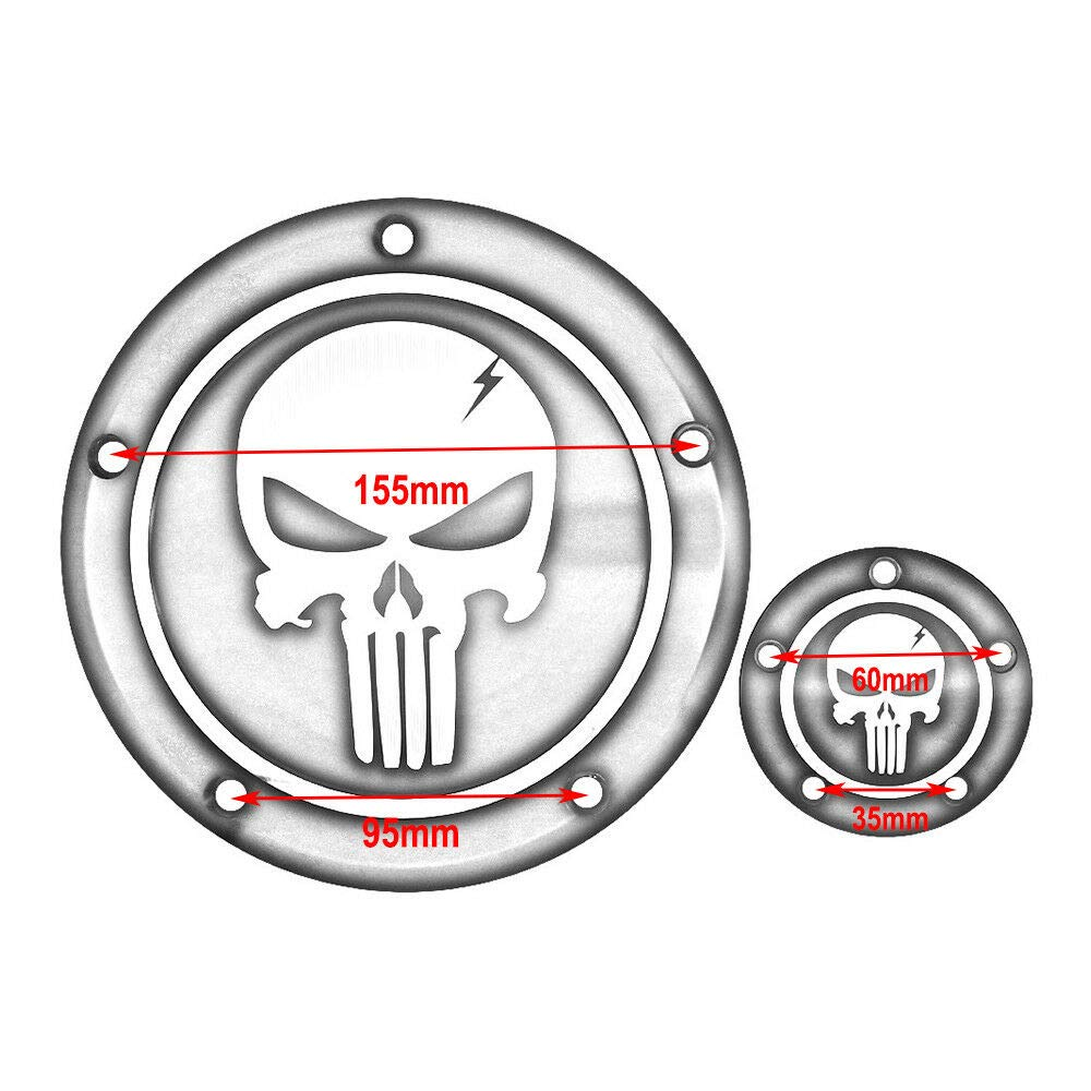 5 Hole Derby Timer Engine Timing Cover For Harley Road King Dyna Softail Electra Street Glide