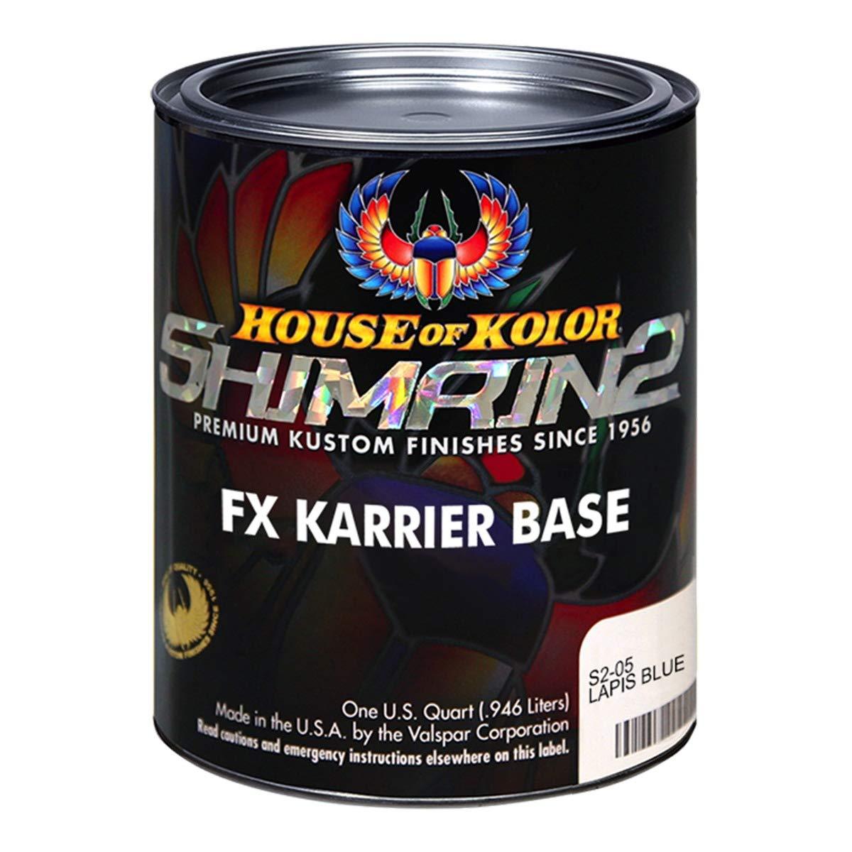 House of Kolor Lapis Blue Shimrin2 FX Karrier Base (Quart) by House of Kolor (Image #1)