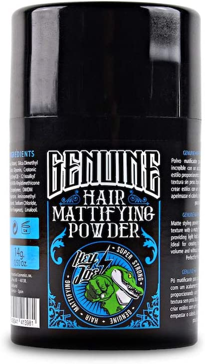 HEY JOE - Genuine Hair Mattifying Powder SUPER STRONG 14 gr | Polvos Volumen y Fijación 14 gr