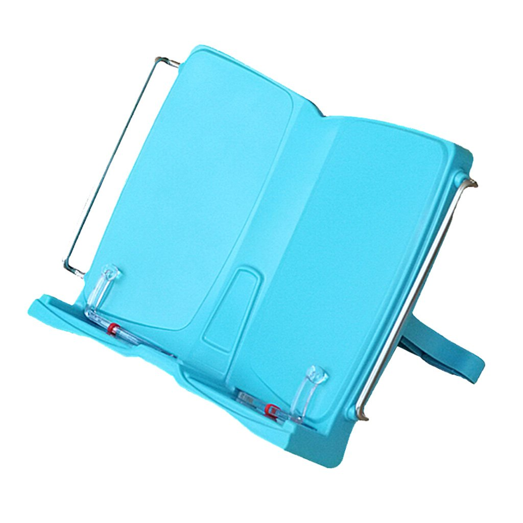 MIAORUIQIN Bookshelf, retractable primary school children's bookshelf reading stand adult reading bookshelf ABS material adjustable angle