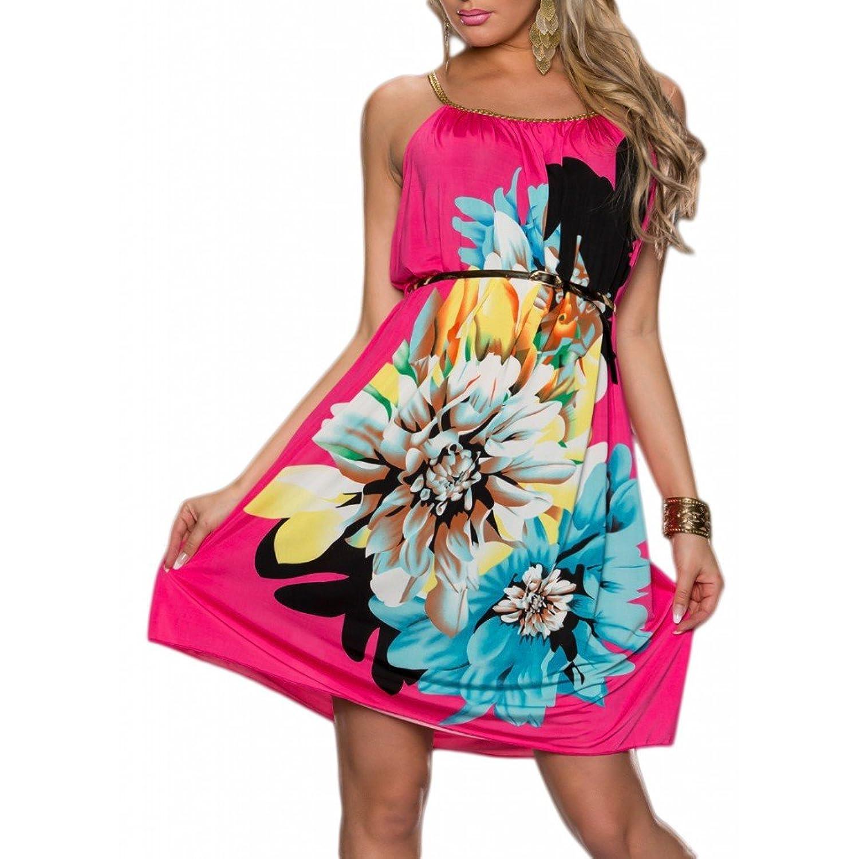 Waooh - Kurzes Kleid Blumen Frik