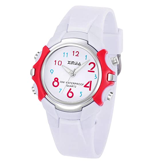 577f22d6708dcc Kids Watches,Color Large Dial Easy Read Time Teacher Watch for Boys Girls  Kids,