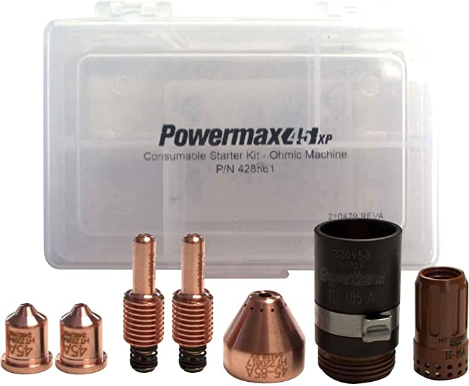Hypertherm Genuine PowerMax 45 XP Ohmic Retaining Cap 220953 for sale online