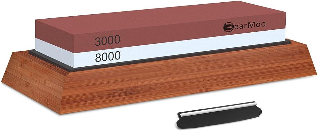 ciseaux ciseaux White corundum 1000//6000 Pierre /à aiguiser double face pour couteaux haches rasoirs