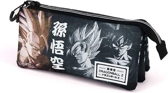 Karactermania Goku-Dreifach HS Federmäppche, Estuche, 24 cm, Multicolor: Amazon.es: Equipaje