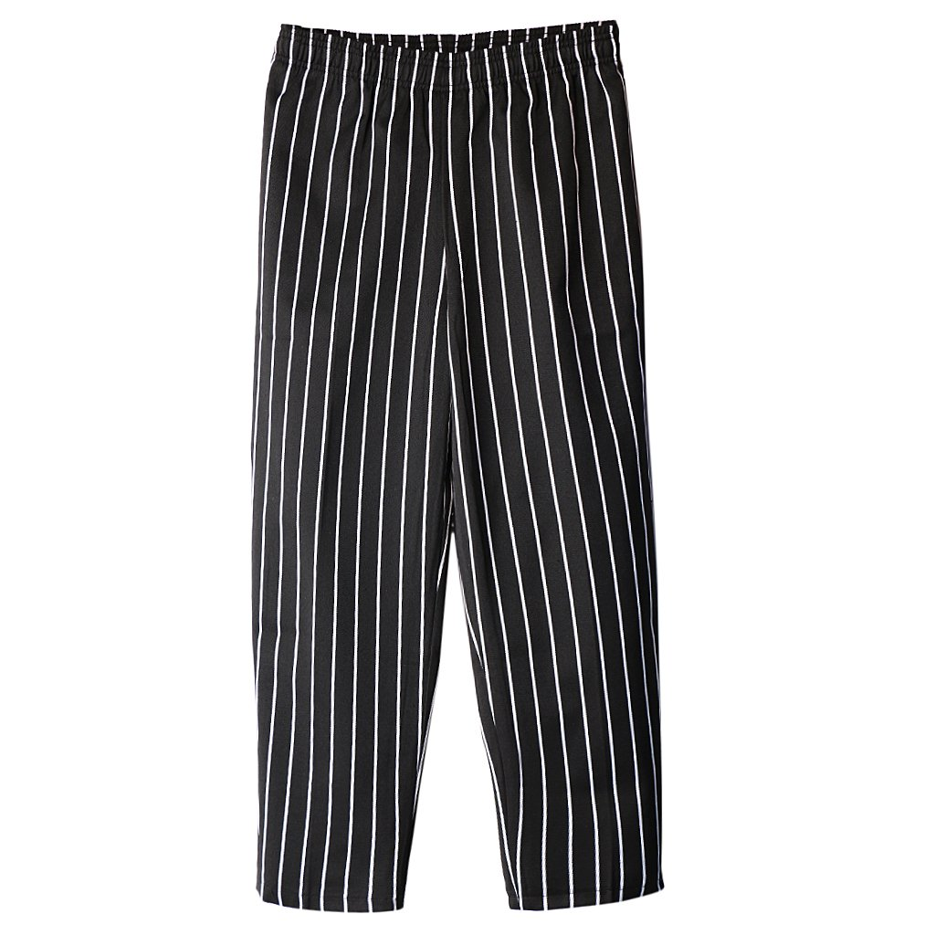 Jili Online Chef Working Pants Fashion Hotel Restaurant Elastic Comfy Cook Work Trousers