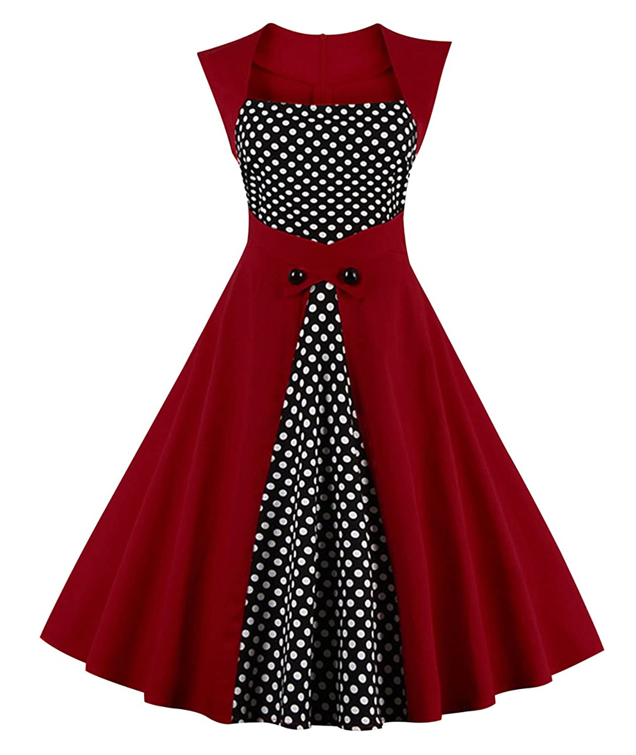 d753e25f5bcd7 Online Cheap wholesale Killreal Womens Polka Dot Retro Vintage Style  Cocktail Party Swing Dress Cocktail Suppliers
