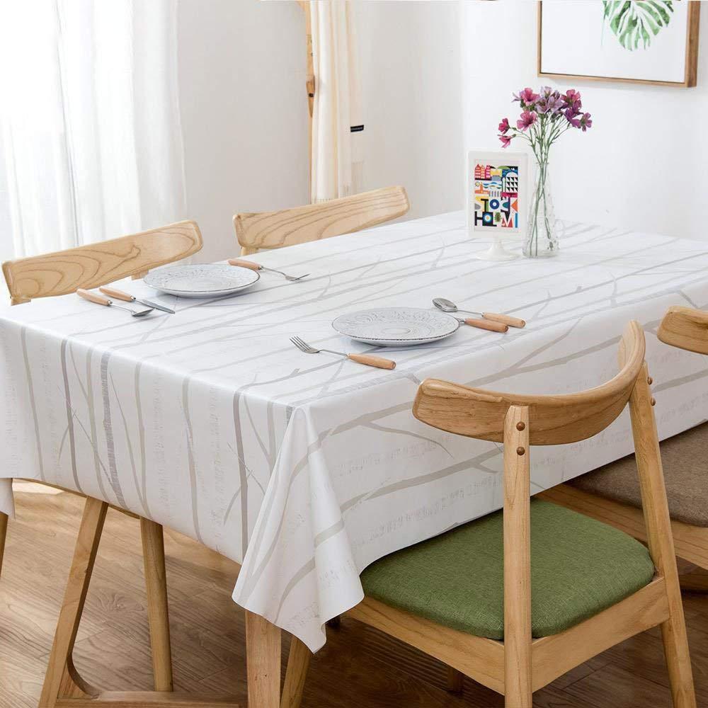 XixuanStore テーブルクロス?pvc防水テーブルクロスヨーロッパの装飾的なテーブルクロスホームオイル汚れ防汚ホームテーブルクロス (サイズ : 1.37*2.15m) 1.37*2.15m  B07Q4CRHFQ