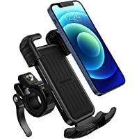 UGREEN Bike Phone Holder, Bicycle Motorcycle Phone Stand Stainless Mount 360 Rotation on Stroller, Compatible for 4.7-6…