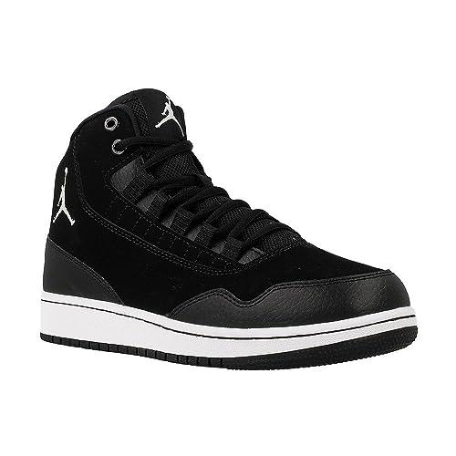 huge discount 191b9 ff5c7 Nike Jordan Executive BG, Scarpe da Basket Bambino, Nero-Bianco, 35 1