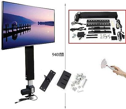OUKANING Soporte de Pared TV para Autómatas elevación Vertical-motorizado TV para televisores de 26-57