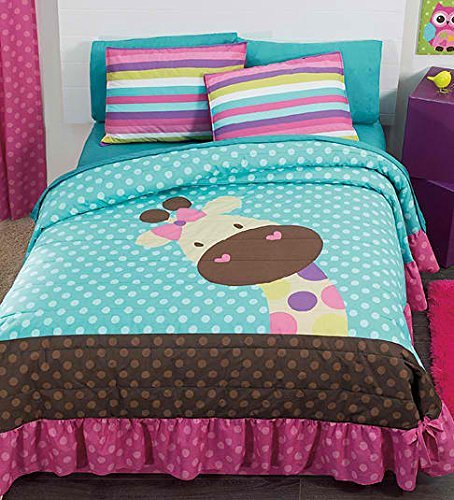 NEW Jirafa Teens Bedspread Set and Sheet Set