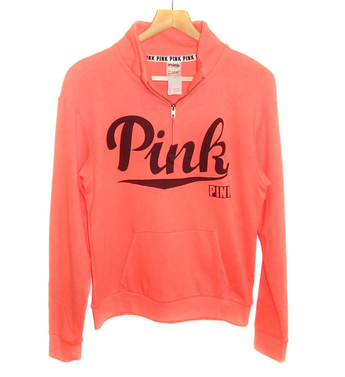Victorias Secret - Sudadera - para mujer Naranja Orange/Black Small: Amazon.es: Ropa y accesorios