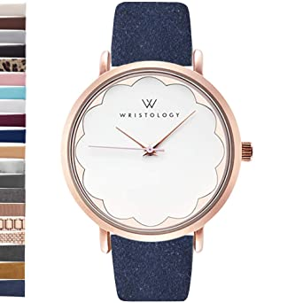 WRISTOLOGY Olivia - Reloj de Pulsera para Mujer, diseño de ...