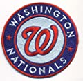 Washington Nationals Logo Baseball MLB Embroidered Iron On Patches Hat Jersey 3 1/2""