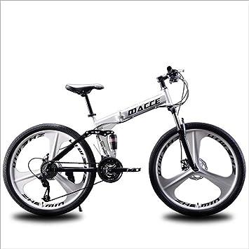 AISHFP Plegable Bicicleta de montaña, Motos de Nieve Playa de ...