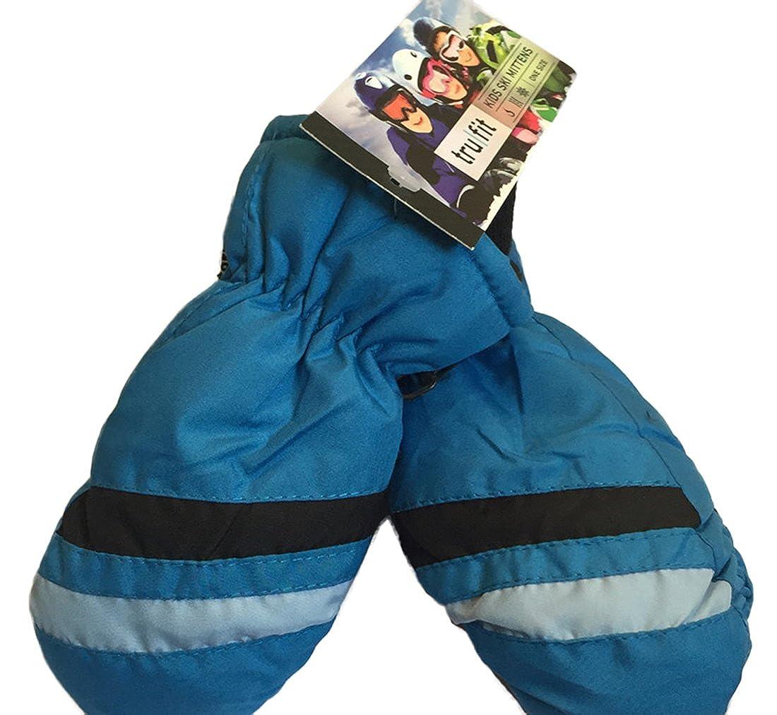 Childrens 3M Thinsulate Waterproof Winter Sports Snow Ski Mittens Gloves