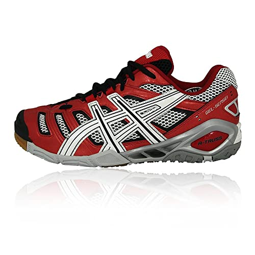 ASICS  Indoor rojo