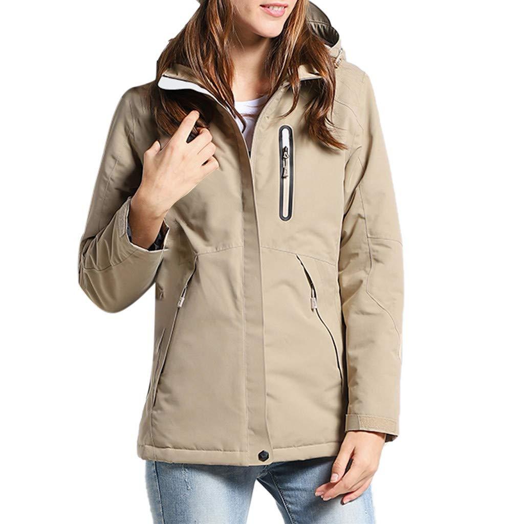 Ultramall Woman/Man Electronic Heating Jacket USB Waterproof Fashion Multi Color Coat by Ultramall