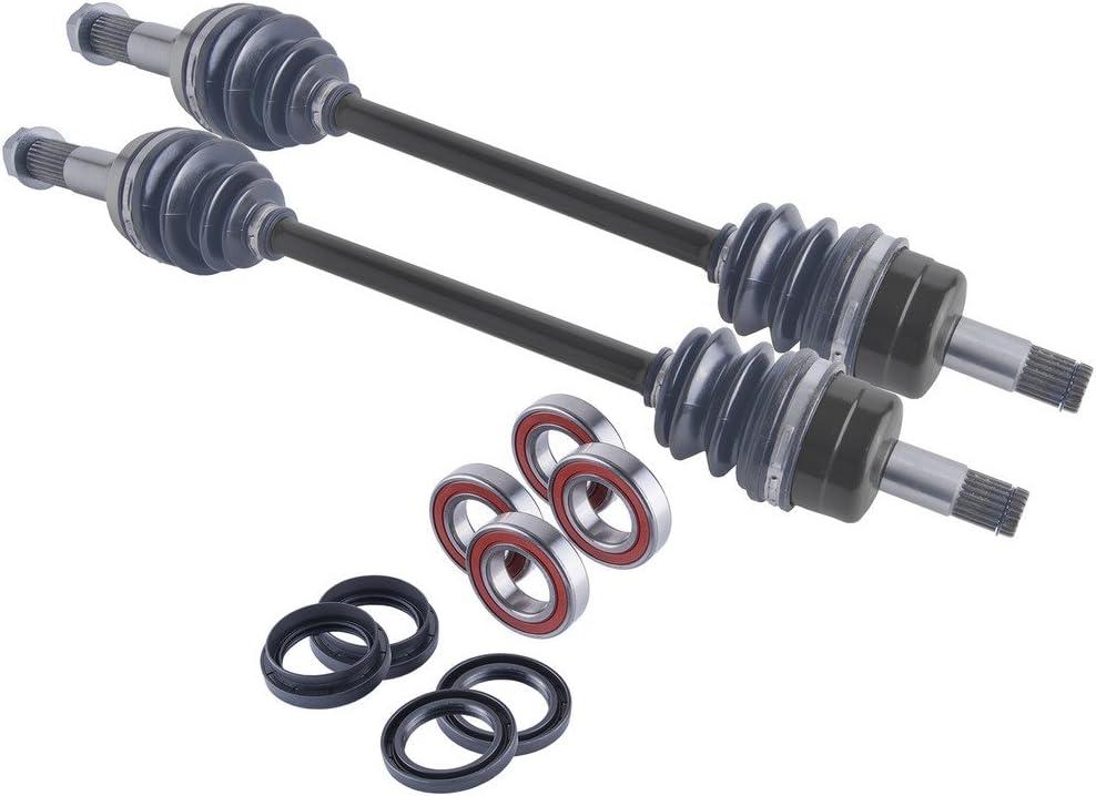 Yamaha Rhino rear left cv axle wheel bearings /& seal kit 700 2008 2009-2013
